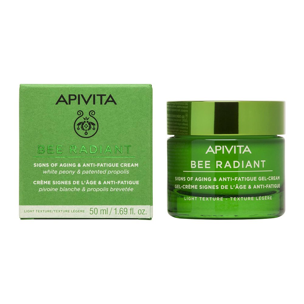 Apivita Bee Radiant Peony & Patented Propolis Light Texture 50ml