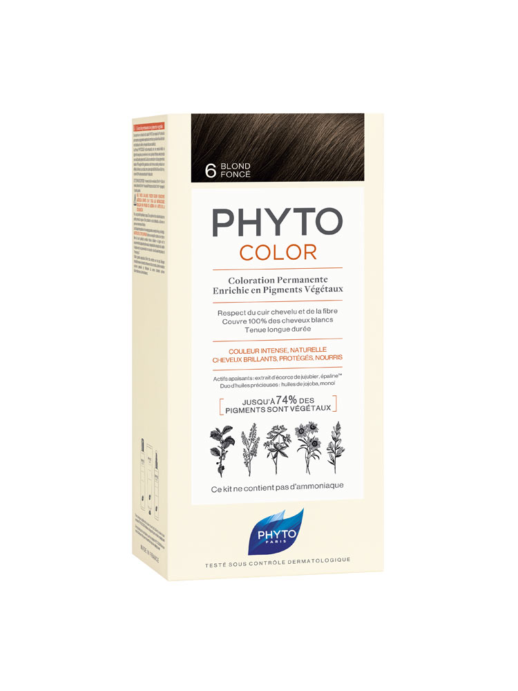 Phyto Phytocolor 6 Ξανθό Σκούρο