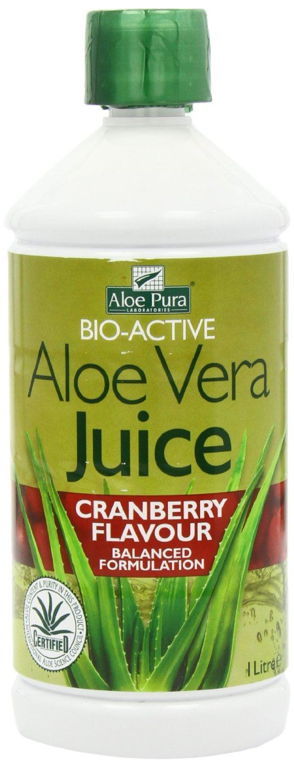 Optima Aloe Vera Juice with Cranberry 1000ml