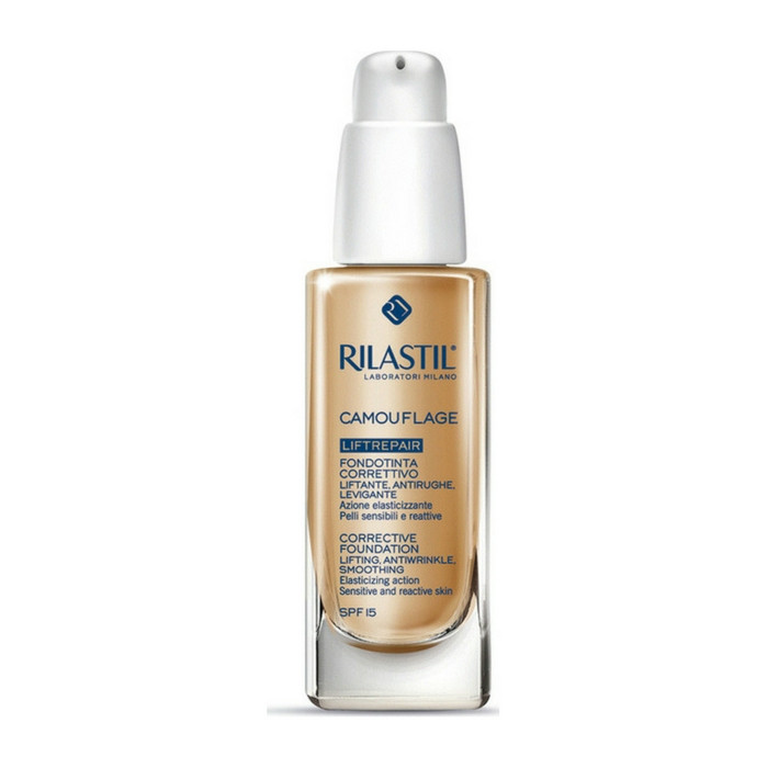 Rilastil Maquillage Liftrepair Foundation Lifting Antiwrinkle Smoothing SPF15 20 Natural 30ml