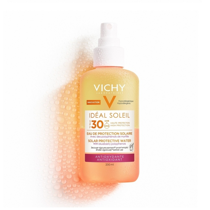 Vichy Ideal Soleil Luminosity SPF30 Protective Solar Water 200ml
