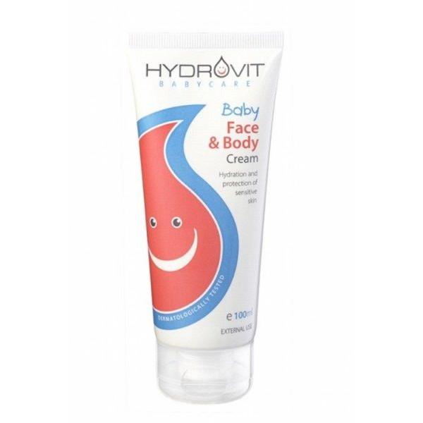 HYDROVIT BABY FACE & BODY CREAM 100 ml