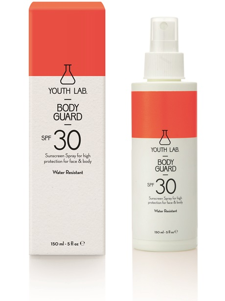 Youth Lab Body Guard SPF30 Sunscreen Spray for Face & Body 150ml