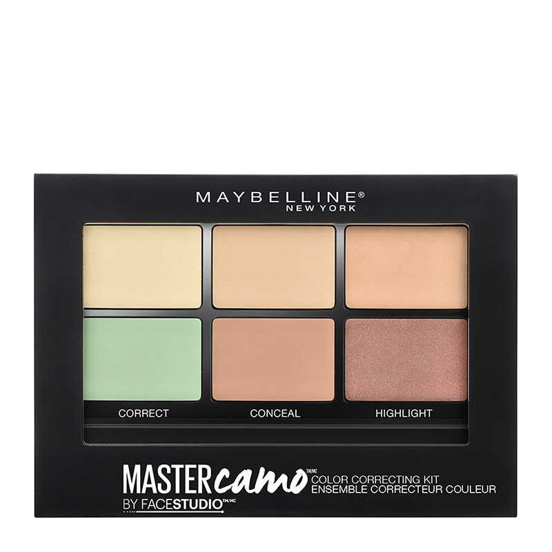 Maybelline Master Camo Face Correcting Kit 01 Light 6.5g