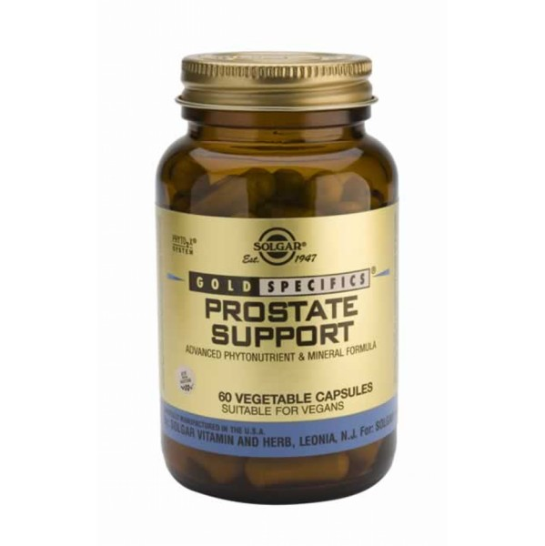SOLGAR PROSTATE SUPPORT 60VCAP