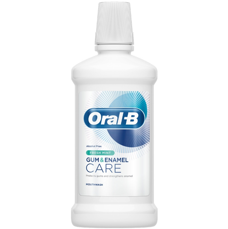 Oral-B Στοματικό Διάλυμα Gum & Enamel Care Fresh Mint 500ml