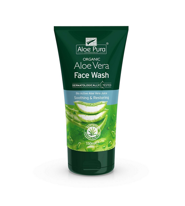 Optima Organic Aloe Vera Face Wash 150ml