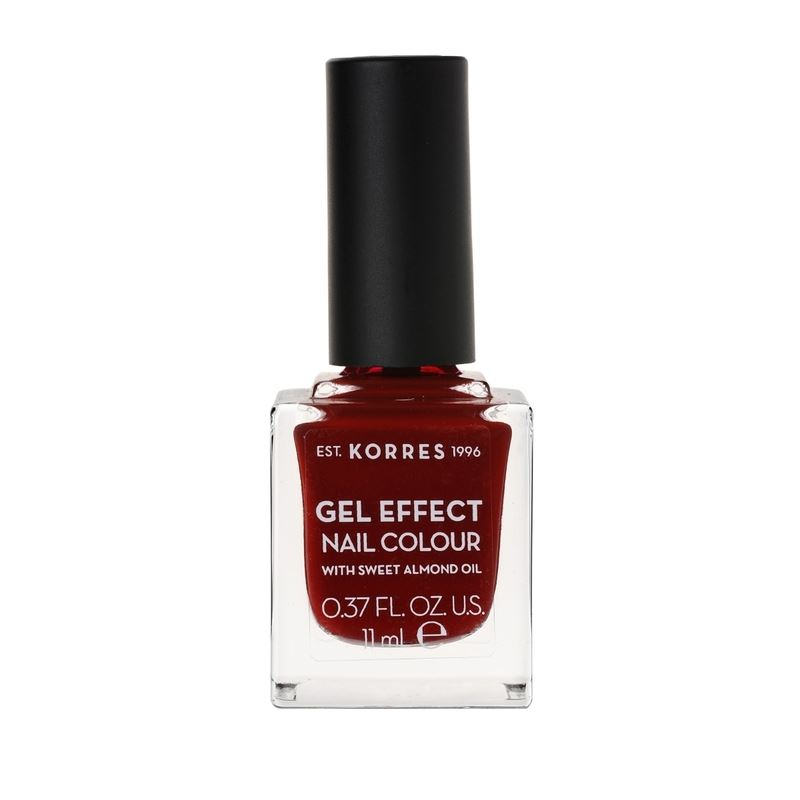 Korres Βερνίκι Νυχιών Gel Effect Nail Colour No59 Wine Red 11ml