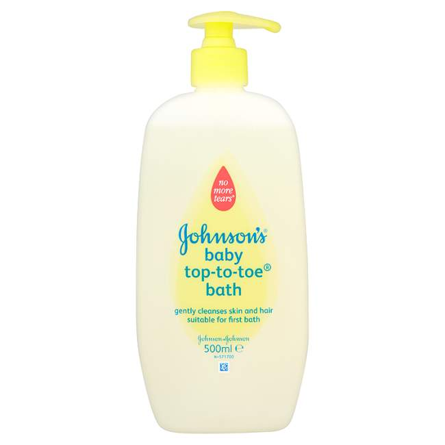 Johnsons Baby Top-to-Toe Bath 500ml