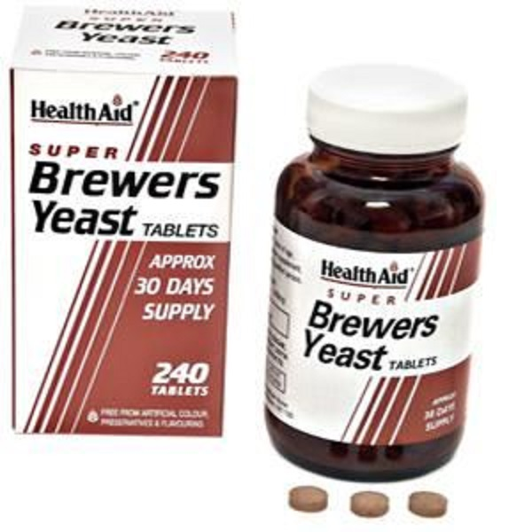 HEALTH AID SUPER BREWERS YEAST TABLETS 240S