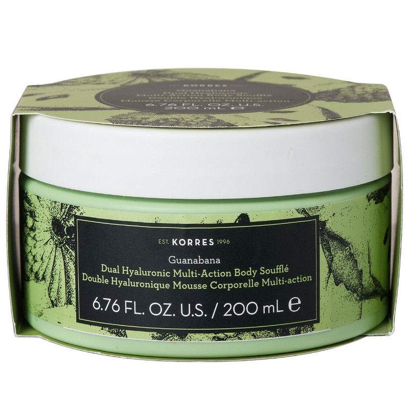 Korres Dual Hyaluronic Multi-Action Body Souffle Guanabana 200ml