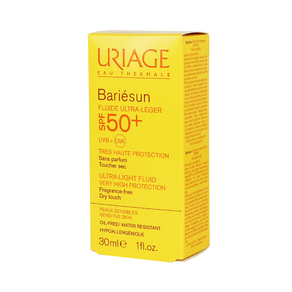 Uriage Bariesun Fluid Ultra Leger SPF50+ 30ml