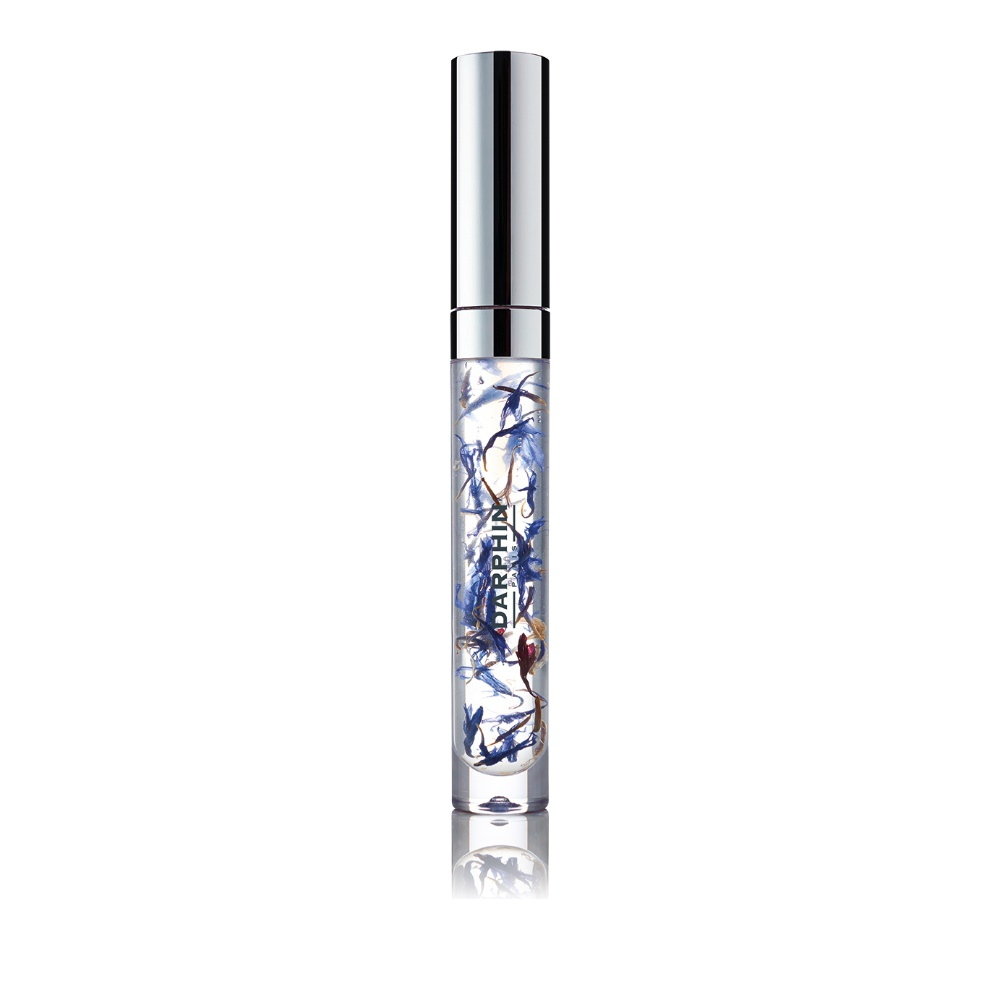 Darphin Petal Infusion Lip Oil With Smoothing Blue Cornflower Petals 4ml