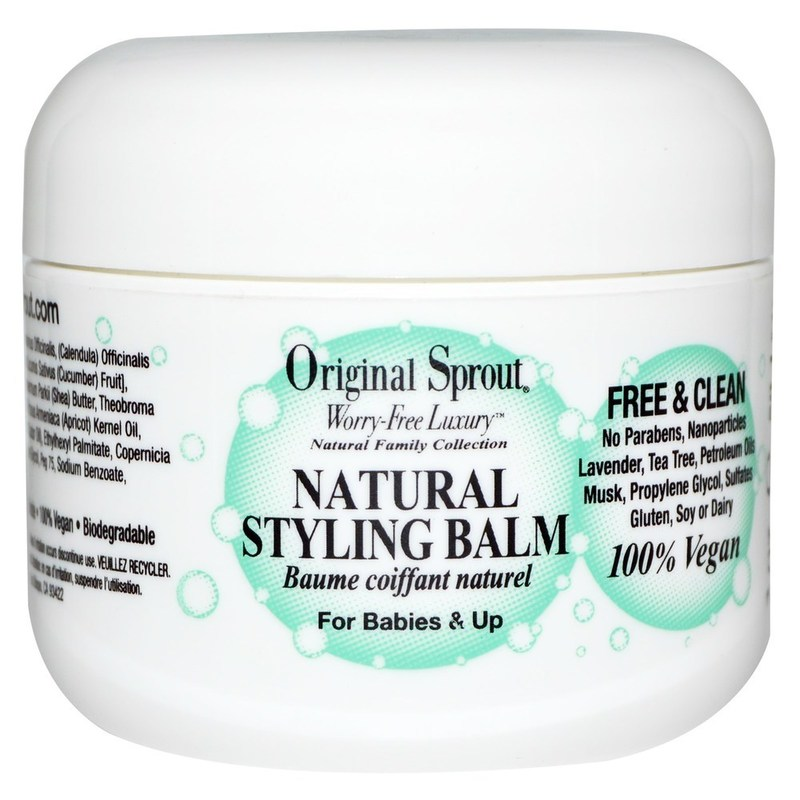 Original Sprout Natural Styling Hair Balm For Babies & Up 59ml