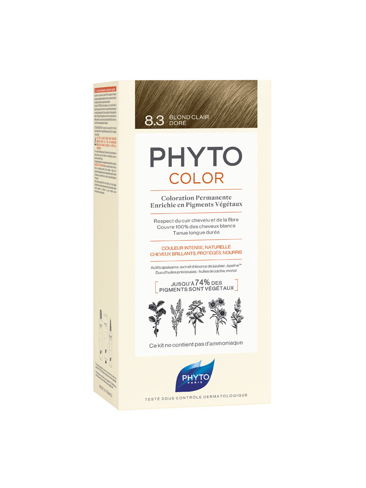 Phyto Phytocolor 8.3 Ξανθό Ανοιχτό Χρυσό