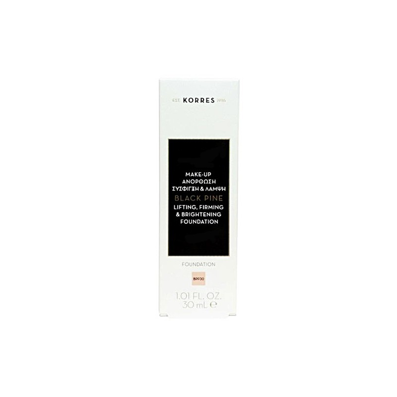 Korres Μαύρη Πεύκη Make Up Lifting, Firming & Brightening Fountation Απόχρωση BPF00 30ml
