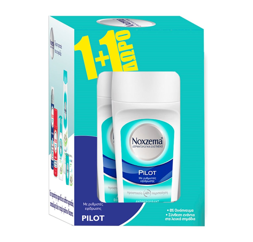 Noxzema Roll-On Pilot 50ml 1+1 ΔΩΡΟ
