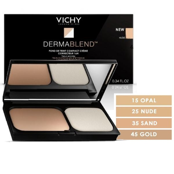 VICHY DERMABLEND COMPACT CREAM SAND 35 SPF30 10gr