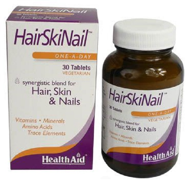 HEALTH AID HAIR, SKIN & NAIL FORMULA TABLETS 30S