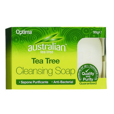 OPTIMA Australian Tea Tree Antiseptic Cleansing Soap 90gr