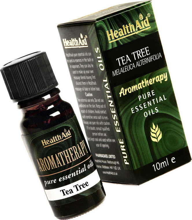 HEALTH AID PURE Tea Tree Oil (Melaleuca alternifolia) 10ml