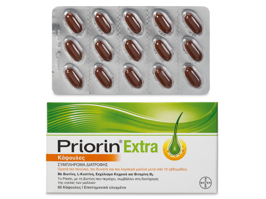 PRIORIN EXTRA NEW 60 Κάψουλες
