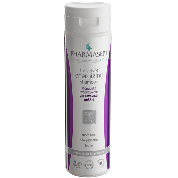 PHARMASEPT Tol Velvet Energizing Shampoo NORMAL 250ML
