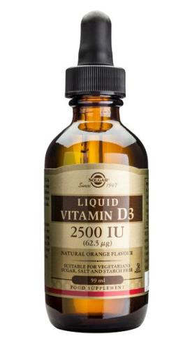 SOLGAR VITAMIN D-3 2500 IU LIQUID 59ml