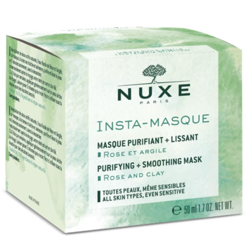 Nuxe Insta-Masque Purifying + Smoothing Mask with Rose and Clay 50ml