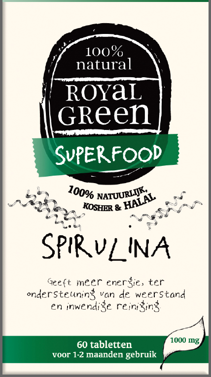 AM HEALTH ROYAL GREEN SPIRULINA 60CAPS