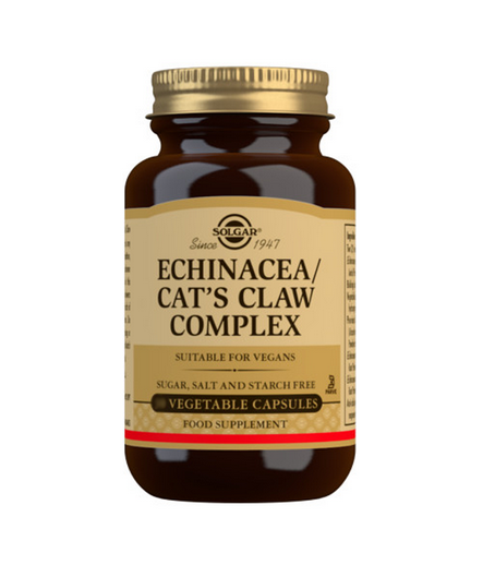 SOLGAR ECHINACEA  CATS CLAW 60VC