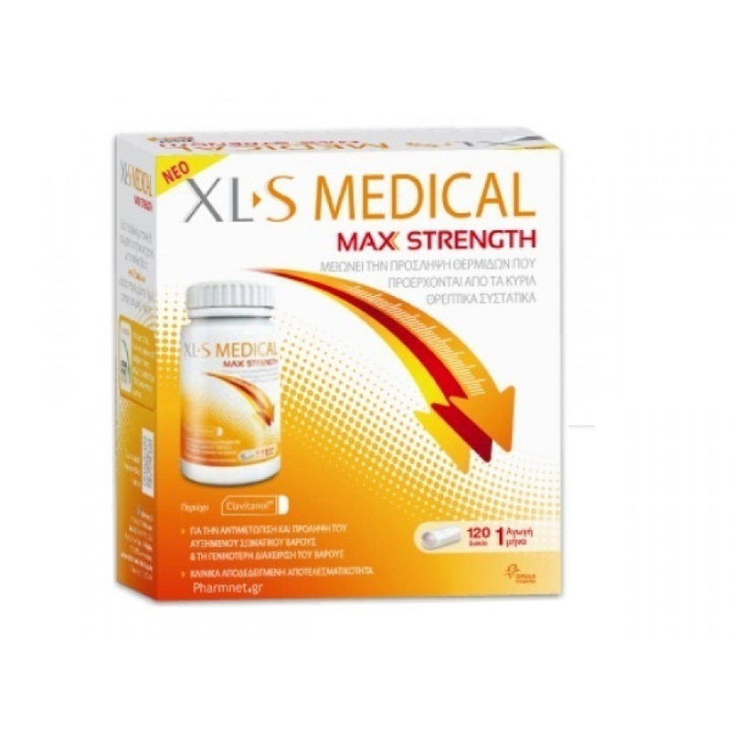 XLS Medical Max Strength 120caps