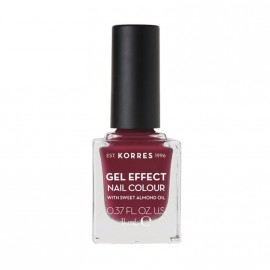 Korres Βερνίκι Νυχιών Gel Effect Nail Colour No74 Berry Addict 11ml