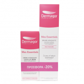 Inpa Dermagor Mes Essentiels Cream Riche 40ml & Dermagor Mes Essentiels Brume Apaisante 200ml