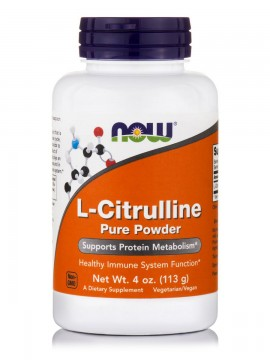 Now Foods L-Citrulline Pure Powder 4oz