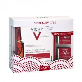 Vichy Set Liftactiv Special Peptide-C Anti-Ageing Αμπούλες 30 x 1.8ml + ΔΩΡΟ Vichy Liftactiv Collagen Specialist 2x15ml