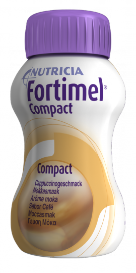 NUTRICIA FORTIMEL COMPACT ΜΟΚΑ 4 X 125ML