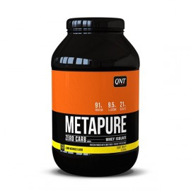 QNT Metapure Zero Carb Whey Isolate Protein Powder Lemon Meringe 1kg