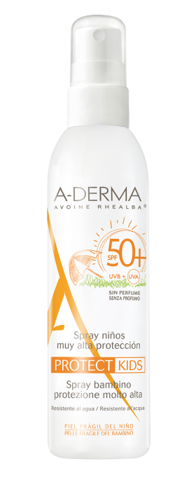 ADERMA PROTECT KIDS Spray enfant SPF50+ 200ml