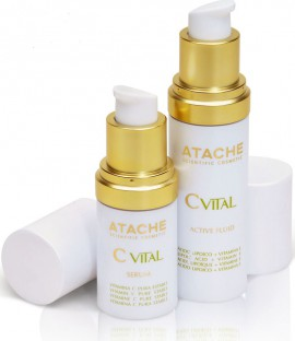 Atache Set C Vital Serum 15ml + Active Fluid 30ml