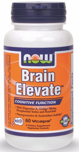 Now Foods Brain Elevate 60 Veget.caps