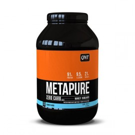 QNT Metapure Zero Carb Whey Isolate Protein Powder Coconut 1kg