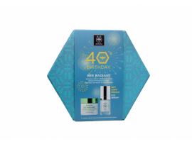 Apivita 40s Birthday Set Bee Radiant Κρέμα Ελαφριάς Υφής 50ml + Δώρο 5 Action Eye Serum 15ml