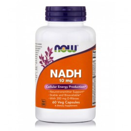 Now Foods NADH 10mg, 60 Veget.caps
