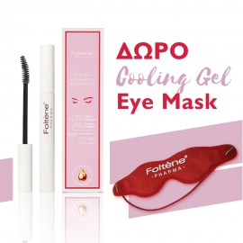Foltene Set Eyelash And Eyebrow Treatment Για Βλεφαρίδες Και Φρύδια 6.5ml + ΔΩΡΟ Cooling Gel Eye Mask