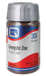 QUEST SYNERGISTIC ZINC 15mg 30TABS