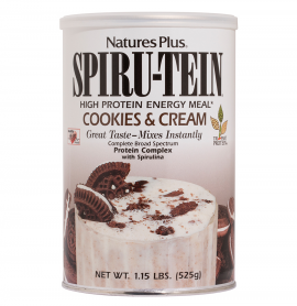 Natures Plus SPIRU-TEIN COOKIES & CREAM 525 gr