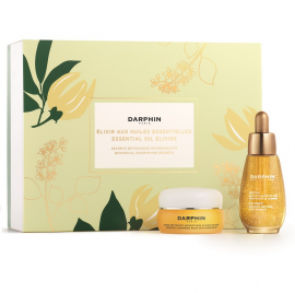 Darphin Set Essential Oil Elixirs 8-Flower Golden Nectar 30ml + Aromatic Cleansing Balm With Rosewood 25ml