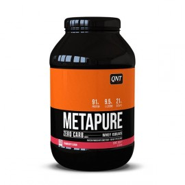 QNT Metapure Zero Carb Whey Isolate Protein Powder Strawberry 1kg