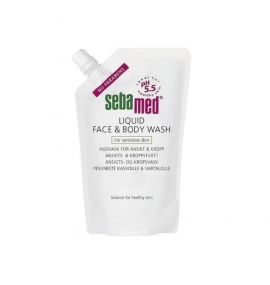 Sebamed Liquid Wash Face & Body Refill 400ml